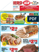 IGA MI Coupons Circular 23 JAN 12 Shepherd MI