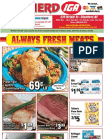 IGA MI Coupons Circular 16 JAN 12 Shepherd MI