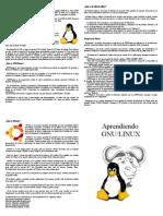 Aprendiendo GNU Linux