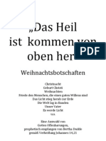 201 Weihnachtsbotschaften ''Das Heil ist kommen von oben her''
