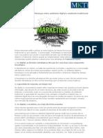 Marketing Digital - Diferenças entre ambiente digital e ambiente tradicional
