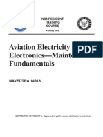 US Navy Course NAVEDTRA 14318 - Aviation Electricity & Electronics-Maintenance Fundamentals 2002