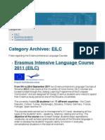 EILC | Students Mobility Blog