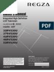 Toshiba 32RV530U Manual