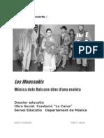 Portada Dossier Moussakis