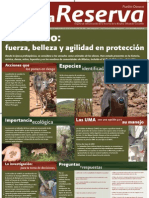 Cartel del venado cola blanca en la Reserva de Biosfera Tehuacán-Cuicatlán