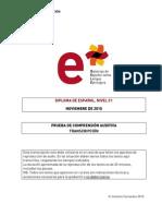 Modelo Examen Nivel c1 19noviembre Transcripcion