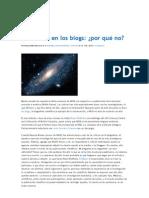 La Ciencia en Los Blogs