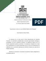 ensayo Xákmok Kásek Alejandro Jimenez