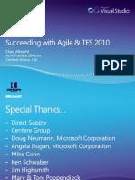 UG Pres - Feb 2010 - Succeeding w Agile and TFS 2010