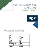 Aprendiendo Ingles Sin Maestro