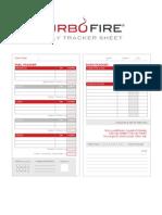 TurboFire Daily Tracker