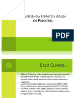Insuficiencia Hepática Aguda en Pediatría FINALpptx