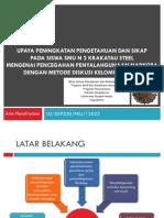 Presentasi Proposal Arie Hendriyana
