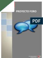 ProyectoF1-Crear un foro en PHP