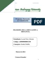 Leonel Soto Alemán ensayo 1