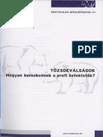 Portfolio.hu - Tőzsdeválságok