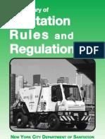 DSNY Rules Reg