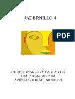 4. Cuestionarios y Pautas de Despistajes Para Apreciaciones Iniciales
