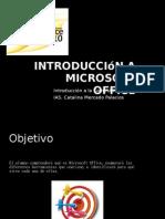 Introduccion a Microsoft Office
