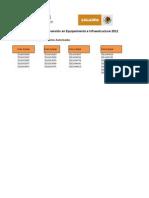 Programa de Apoyo a la Inversión en Equipamiento e Infraestructura 2011 Componente Pesca