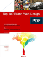 Top 100 Brands Website Design in the World