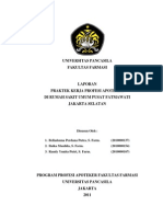 Laporan Umum PKPA RSUP Fatmawati