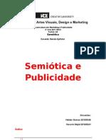 Semiótica e Publicidade TRABALHO