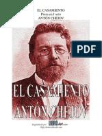 El Casamiento Anton Chejov