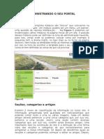 Manual de administração do site em JOOMLA