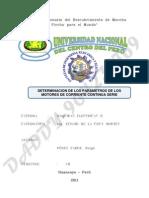 Determinacion de Parametros de Motor cc Serie