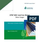 GBDC Inception Report 9 Jan 2012