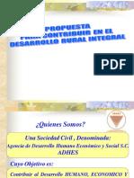 Operacion Del Desarrollo Rural