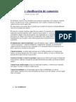 Definición y clasificación de comercio