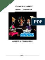 CARPETA DE TRABAJO DAVID GARCÍA 2012
