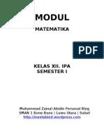 Modul Matematika Kelas XII Program Linear
