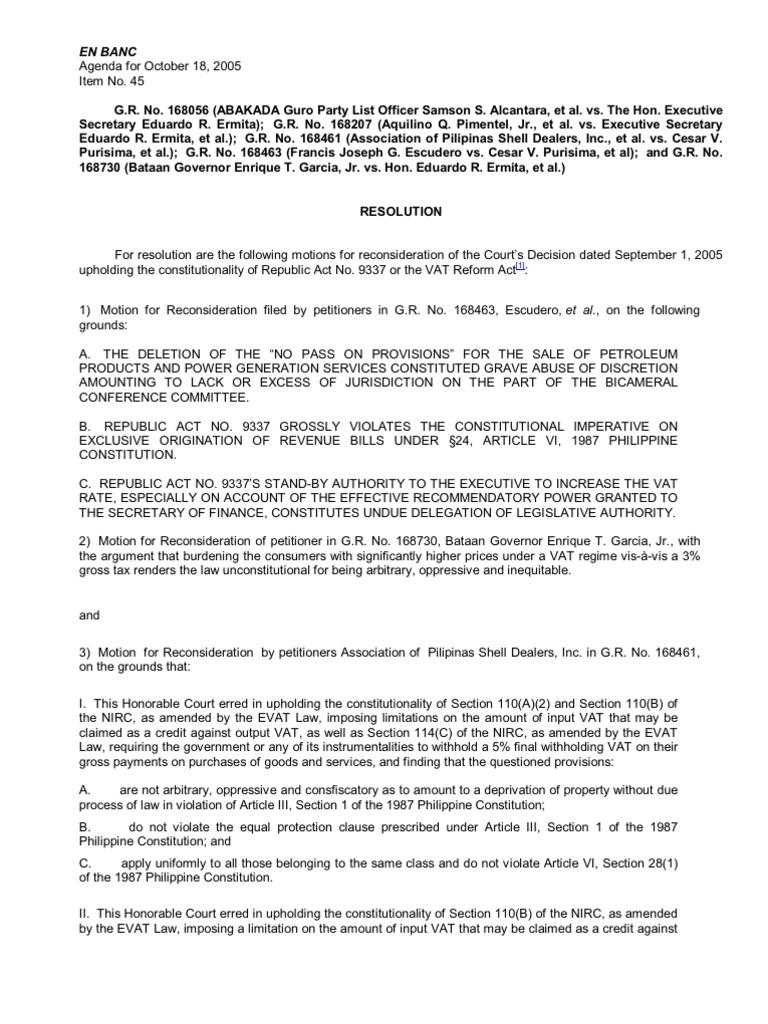 abakada guro - october | value added tax | united states house of