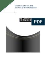 Training Brochure EFGO