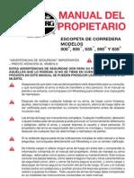 Manual de Escopeta Pajiza Mossberg