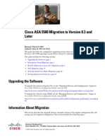 ASA Migrating
