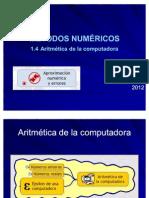 1.4 Aritmetica de La a