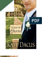 Stand in Groom - Kaye Dacus