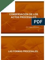 20090727-Conservacion de Los Actos Procesales