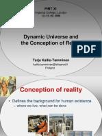 Tarja Kallio-Tamminen- Dynamic Universe andthe Conception of Reality