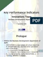 KPI for MAPL Innovations