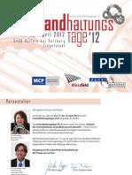 Einladung INSTANDHALTUNGSTAGE 2012