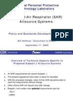 SAR - Fonte de Ar Externa Com Respirador