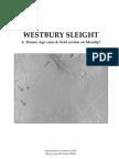 Westbury Sleight Report