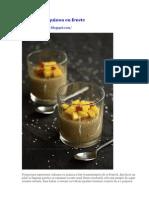 Budinca de Quinoa Cu Fructe