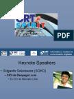 ORT SpirIT 2008. Perfil de Presentación de Los Oradores